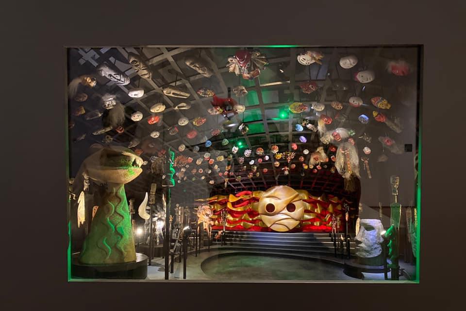 「芸術は呪術である」岡本太郎展in新潟の太陽の塔の地下展示模型A