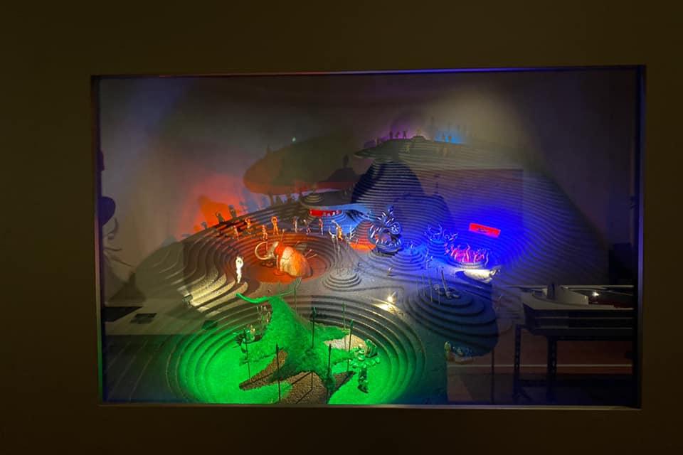 「芸術は呪術である」岡本太郎展in新潟の太陽の塔の地下展示模型B