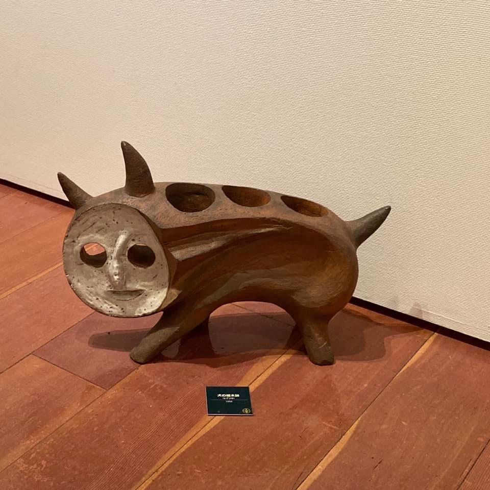 「芸術は呪術である」岡本太郎展in新潟のかわいい生き物